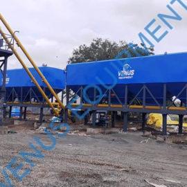 fly ash cement storage silo