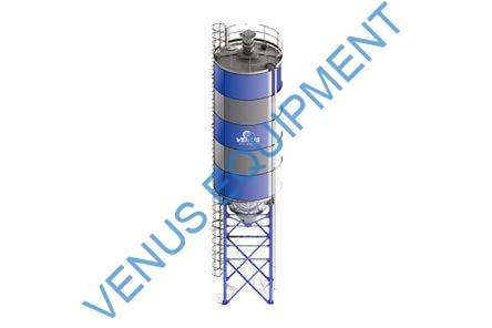 vertical cement silo
