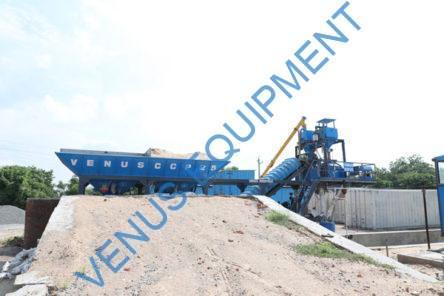 mobile concrete batching plant ccp1