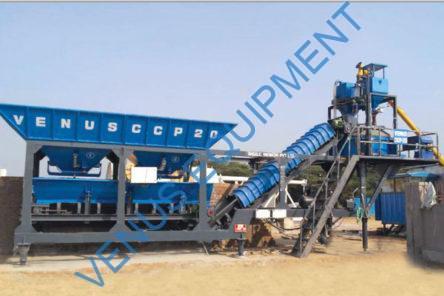 mobile concrete batching plant ccp2