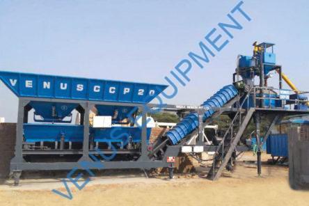 mobile concrete batching plant ccp20
