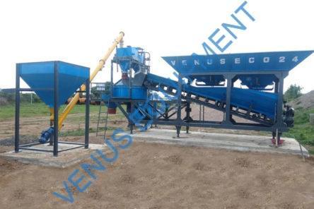 mobile concrete batching plant eco series
