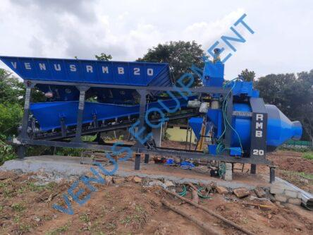Mobile concrete batching plant RMB 20
